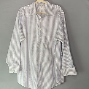 Brooks Brothers Regent Striped Button Up Shirt